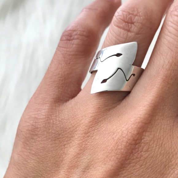 Stamped Jewelry - VINTAGE 925 SILVER RING FROM TURKEY YEAR 2000